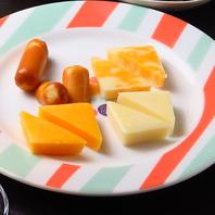 ☆日替わりチーズ盛り合わせ☆