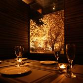 カップルシート☆デートや誕生日・記念日などのシーンにぴったり♪個室でバル料理お楽しみください!