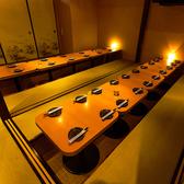 ◆団体様個室◆少人数から団体のお客様までご利用可能です♪大人の雰囲気漂う合コン・接待・商談向け個室空間です♪家族連れの方や池袋にお住まいの方々にも重宝されております☆