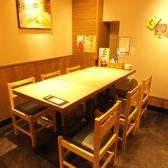 【新橋・西口】簡単に席替えできるテーブル席!急な人数変更も柔軟に対応致します♪