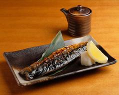 さば塩焼き Grilled Mackerel