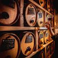 50種のワイン樽は圧巻です!!飲みすぎには注意♪