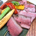 料理メニュー写真厚切り 牛たん炭火焼き(120g)
