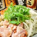 料理メニュー写真九州なら鶏のミゾレ鍋(2人前より注文頂けます。)