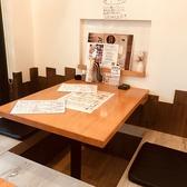 【掘りごたつ席】2名用のお席をつなげて4名以上のご利用も可能です!