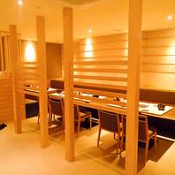 【北千住駅徒歩1分】半個室・個室を多数ご用意!
