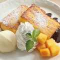 料理メニュー写真台湾カステラ フレンチトースト仕立て