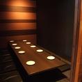 広々とした掘りごたつ個室を完備!最大60名様までご利用可能です。人数に合わせて席をアレンジできるので、女子会や同窓会、その他各種宴会でご利用ください。広島駅新幹線口北口徒歩1分なので、集合・解散にも便利です。
