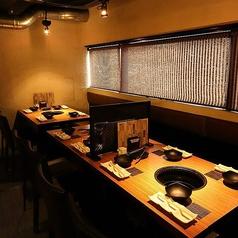 10数名様規模のお食事も可能なテーブル席です!