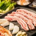 料理メニュー写真生サムギョプサルセット