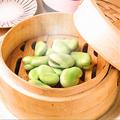料理メニュー写真枝豆のせいろ蒸し