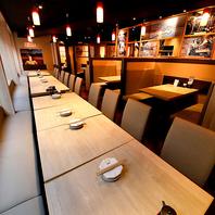 貸切りに!ご宴会テーブル席は20~30名様でご利用可能