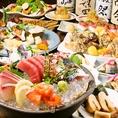 期間限定3h飲み放題付3,500円コースもございます!創作和食をお酒とともにお得にお愉しみください。
