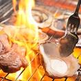 BBQコンロの用意はバッチリ☆あとは皆様でワイワイとお食事しながら、お楽しみいただけます。季節を問わず利用できるBBQの施設は、都内でも珍しい店舗の1つです。