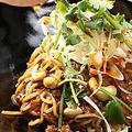 料理メニュー写真汁なし担々麺