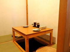 2名様個室は1つのみ!ご予約必須。