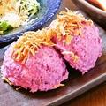 料理メニュー写真紅イモのポテトサラダ