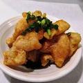 料理メニュー写真カリカリ鶏皮ポン酢