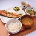 料理メニュー写真ホッケ定食