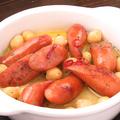 料理メニュー写真チョリソー&ひよこ豆