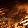 料理メニュー写真本日おすすめ鮮魚の炭火焼