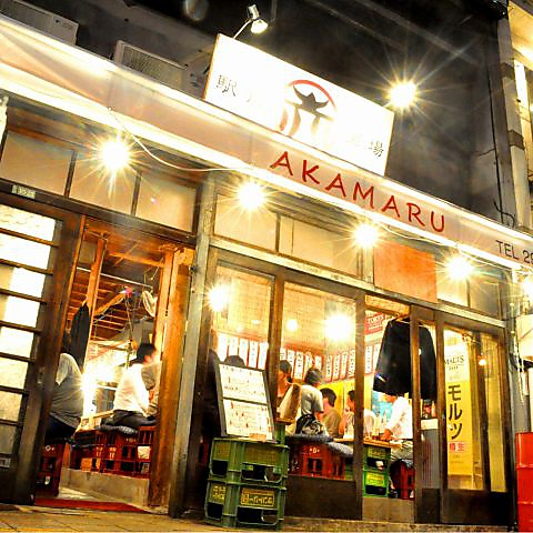 横川駅から3分程の距離に突如あらわれる活気あふれる屋台風居酒屋★