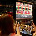 【パーティ総合演出システム「Celevie-セレビィ-」】クイズ番組のような演出をお手軽に実現☆参加者全員のコントローラーが無線でつながり、スクリーンに上映されるクイズやゲームにゲスト全員で参加出来るシステムです!最大80名様までご参加いただけます♪