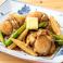 帆立貝とアスパラのバター焦がし醤油焼き