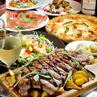 「炭焼きステーキ」や「チーズフォンデュ」の宴会プラン