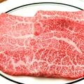 料理メニュー写真黒毛和牛カルビ (タレ・塩)