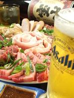 ご宴会には【焼肉×ビール】