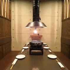 炭火焼肉 大吉屋 七輪の雰囲気1