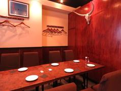 人気の個室席です!6~8名様でご案内しているので、ご希望の方はお早めのご予約をお願いします!!プライベートな飲み会にぴったりのお席です♪