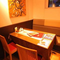 ランチやサク飯に大活躍のテーブル席★