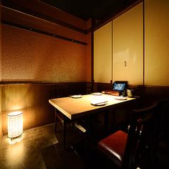 カップル個室や掘り炬燵個室、そしてVIP個室など様々なお席をご用意しております。個室をご希望のお客様はお早めにご予約下さい♪藁焼きをご準備してお待ちしております!!