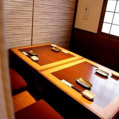 【1階】人気の掘りごたつ個室は2名~OK!