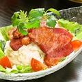 料理メニュー写真ベーコンポテトサラダ