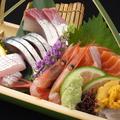 料理メニュー写真・本日のお刺身各種
