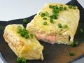 料理メニュー写真厚焼き玉子(プレーン/明太マヨor納豆チーズ)