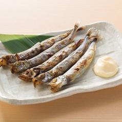 料理メニュー写真子持ちシシャモ(カラフトシシャモ使用)