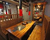 ゆったりと焼肉や韓国料理が楽しめます♪