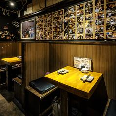 きっと2人の距離も縮まる!?カップルに大人気の2名様半個室。渋谷で買い物や映画を楽しんだ後に、当店でディナーをどうぞ。