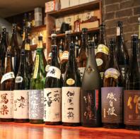 【銘柄日本酒多数】お料理に合う日本酒・焼酎多数ご用意