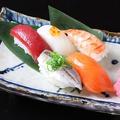 料理メニュー写真人気のお寿司 おまかせ五貫盛り/八貫盛り