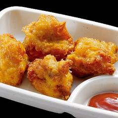 料理メニュー写真鶏唐揚げ/ひとくちとうもろこしチヂミ