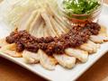 料理メニュー写真蒸し鶏の縁たくXO醤
