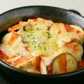 料理メニュー写真なすとミートのチーズ焼き