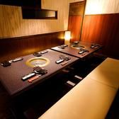 少人数様用個室はデートや記念日に大好評です。