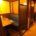 BOXテーブル席☆気軽な半個室♪