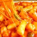料理メニュー写真チーズトッポギ